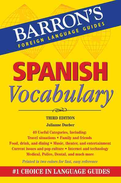 Spanish Vocabulary By Dueber, Julianne